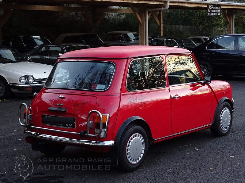Austin Mini Red Hot Mini Red Asp Grand Paris Automobiles Occasion
